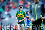 Jack Griffin Kerry players after defeating Cavan in the All Ireland Minor Semi Final in Croke Park on Sunday.