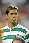 28 July 2004: Celtic captain Jackie McNamara. Glasgow Celtic of the Scottish Premier League defeated Manchester United of the English Premier League 2-1 at Lincoln Financial Field in Philadelphia, PA in a ChampionsWorld Series friendly match..
