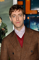 "LOS ANGELES, USA. October 11, 2019: Thomas Middleditch at the premiere of ""Zombieland: Double Tap"" at the Regency Village Theatre.<br /> Picture: Paul Smith/Featureflash"