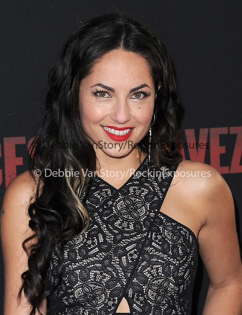 Barbara Mori attends The  Cesar Chavez Los Angeles Premiere held at TCL Chinese Theatre in Hollywood, California on March 20,2014                                                                               © 2014 Hollywood Press Agency