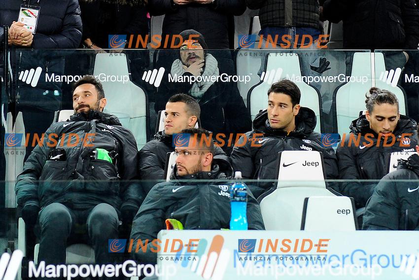 Mirko Vucinic, Daniel Pablo Osvaldo, Sebastian Giovinco Juventus<br /> Torino 02-02-2014 Juventus Stadium - Football 2013/2014 Serie A. Juventus - Inter Foto Giuseppe Celeste / Insidefoto