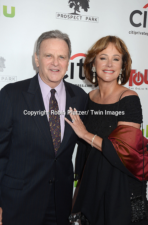 """Hillary B Smith and Bob Woods  attends the New York Premiere of """"All My Children"""" and. """"One Life to Live """" on April 23, 2013 at NYU Skirball Theatre in New York City. Prospect Park is producing the shows and they will air on www.hulu.com starting on April 29, 2013."""