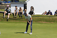 Niall Horan (AM) on the 4th during the Pro-Am of the Irish Open at LaHinch Golf Club, LaHinch, Co. Clare on Wednesday 3rd July 2019.<br /> Picture:  Thos Caffrey / Golffile<br /> <br /> All photos usage must carry mandatory copyright credit (© Golffile | Thos Caffrey)
