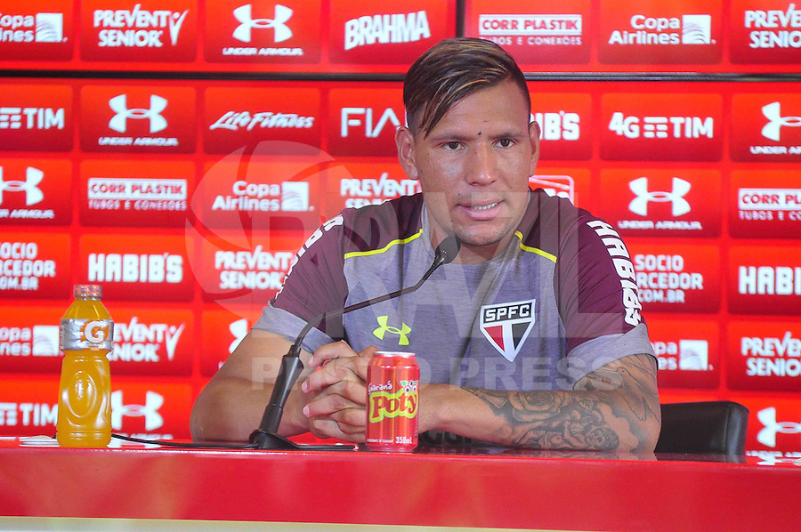 SÃO PAULO, SP, 09.11.2016 – FUTEBOL-SAO PAULO - Cháves concede entrevista coletiva no CT da Barra Funda, na zona oeste da capital, na manhã desta quarta - feira (09)...(Foto: Renato Gizzi/Brazil Photo Press)