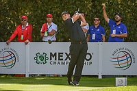 Patrick Reed (USA) watches his tee shot on 12 during round 2 of the World Golf Championships, Mexico, Club De Golf Chapultepec, Mexico City, Mexico. 2/22/2019.<br /> Picture: Golffile | Ken Murray<br /> <br /> <br /> All photo usage must carry mandatory copyright credit (&copy; Golffile | Ken Murray)