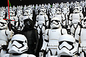 "June 9, 2016, Tokyo, Japan - Figurine toy characters of ""Star Wars"" Kylo Ren and Storm troopers, produced by Japanese toy maker Tomy are displayed at the annual Tokyo Toy Show in Tokyo on Thursday, June 9, 2016. Some 160,000 people are expecting to visit the four-day toy trade show.   (Photo by Yoshio Tsunoda/AFLO) LWX -ytd-"