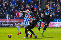 Huddeduring the EPL - Premier League match between Huddersfield Town and Crystal Palace at the John Smith's Stadium, Huddersfield, England on 17 March 2018. Photo by Stephen Buckley / PRiME Media Images.