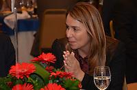 RIO DE JANEIRO, RJ, 23 AGOSTO 2012 - ELEICOES 2012-EDUARDO PAES-Patricia Amorim, Presidente do Flamengo,participa de almoco com representantes da Associacao de Dirigentes de Empresas do Mercado Imobiliario (Ademi). No encontro, serao discutidas propostas para o setor, no Hotel Sheraton, no Leblon, na zona sul do Rio de Janeiro.(FOTO:MARCELO FONSECA / BRAZIL PHOTO PRESS).