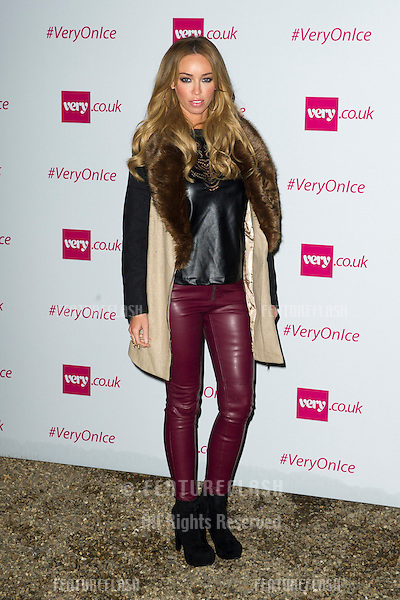 Lauren Pope at the Very.Co.Uk Ice Fashion Show, Tower of London, London. 10/12/2012 Picture by: Simon Burchell / Featureflash.