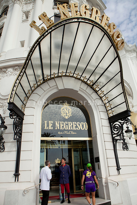 Negresco Hotel, Nice, France, 28 April 2012