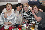 Emer, Olivia, Stephanie and Lorna Finglas in the Pheasant...(Photo credit should read Jenny Matthews/NEWSFILE)...