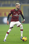 Samuel Castillejo of AC Milan during the Serie A match at Giuseppe Meazza, Milan. Picture date: 9th February 2020. Picture credit should read: Jonathan Moscrop/Sportimage