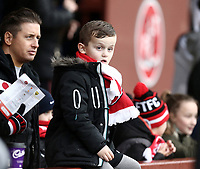Fleetwood Town fans enjoy the pre-match atmosphere<br /> <br /> Photographer Rich Linley/CameraSport<br /> <br /> The EFL Sky Bet League One - Fleetwood Town v Oxford United - Saturday 12th January 2019 - Highbury Stadium - Fleetwood<br /> <br /> World Copyright &copy; 2019 CameraSport. All rights reserved. 43 Linden Ave. Countesthorpe. Leicester. England. LE8 5PG - Tel: +44 (0) 116 277 4147 - admin@camerasport.com - www.camerasport.com