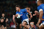 16th June 2017, Eden Park, Auckland, New Zealand; International Rugby Pasifika Challenge; New Zealand versus Samoa;  Alapati Leiua of Samoa runs the ball