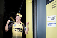 stage 7 winner Dylan Groenewegen (NED/Jumbo Visma) <br /> <br /> Stage 7: Belfort to Chalon-sur-Saône (230km)<br /> 106th Tour de France 2019 (2.UWT)<br /> <br /> ©kramon