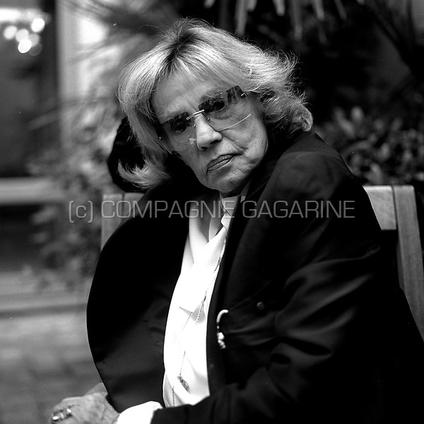 French actress Jeanne Moreau n Ghent (Belgium, 15/10/2005)