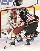 Paul Stastny, (Eric Leroux), Landis Stankievech - The Princeton University Tigers defeated the University of Denver Pioneers 4-1 in their first game of the Denver Cup on Friday, December 30, 2005 at Magness Arena in Denver, CO.