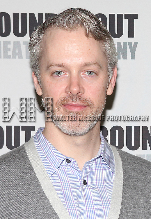 Tim McGeever.attending the Meet & Greet for the Roundabout Theatre Company's Off-Broadway Production of 'The Common Pursuit' at their Rehearsal Studios in New York on 4/6/2012.
