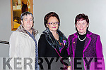 Bety Twomey, Noreen Doherty and Annette Sheehan at the Killarney Active retirement lunch in the INEC on Sunday