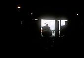 D&amp;RGW #484 K-36 entering engine house at Alamosa.<br /> D&amp;RGW  Alamosa, CO
