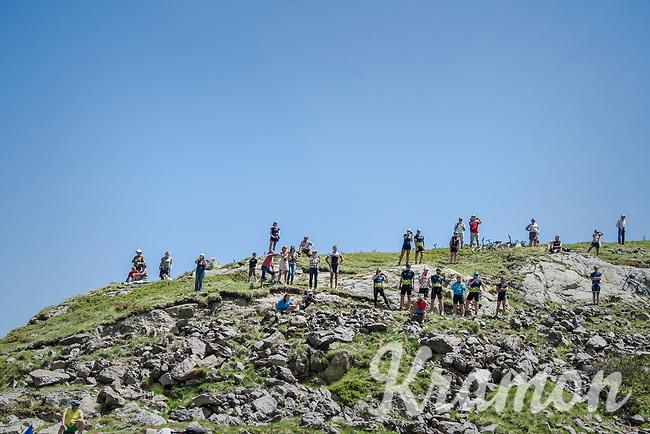 fans all the way up the mountain<br /> <br /> stage 7: Aoste > Alpe d'Huez (168km)<br /> 69th Critérium du Dauphiné 2017