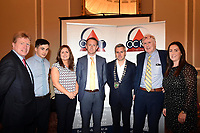 Pictured at an OCKT Chartered Accountants Budget Highlights Briefing in The Malton Hotel, Killarney on Wednesday were from left, Bobby O'Dwyer, Paul Murphy, Sarah Treacy, Colm Cooper, Paul O'Neill, President, Killarney Chamber of Tourism &amp; Commerce,  Marcus Treacy, Caitriona O'Callaghan.<br /> Photo: Don MacMonagle<br /> <br /> repro free photo