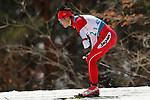 Yoshihiro Nitta (JPN),<br /> MARCH 14, 2018 - Cross-Country Skiing : <br /> Men's Sprint 1.5 km Standing Semi-final <br /> at Alpensia Biathlon Centre   <br /> during the PyeongChang 2018 Paralympics Winter Games in Pyeongchang, South Korea. <br /> (Photo by Yusuke Nakanishi/AFLO SPORT)