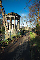 St Bernard's Well and the Water of Leith, Stockbridge, Edinburgh