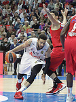 Real Madrid's Jeffery Taylor during Euroleague match. January 28,2016. (ALTERPHOTOS/Acero)