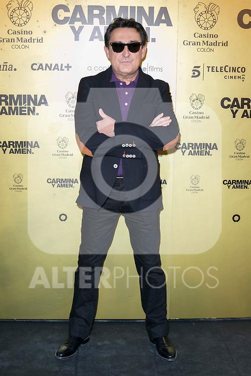 "Spanish actor Mariano Peña attend the Premiere of the movie ""Carmina y Amen"" at the Callao Cinema in Madrid, Spain. April 28, 2014. (ALTERPHOTOS/Carlos Dafonte)"