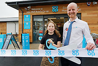 2019 12 06 Opening of Jobs Well Road Co op in Carmarthen, Wales, UK