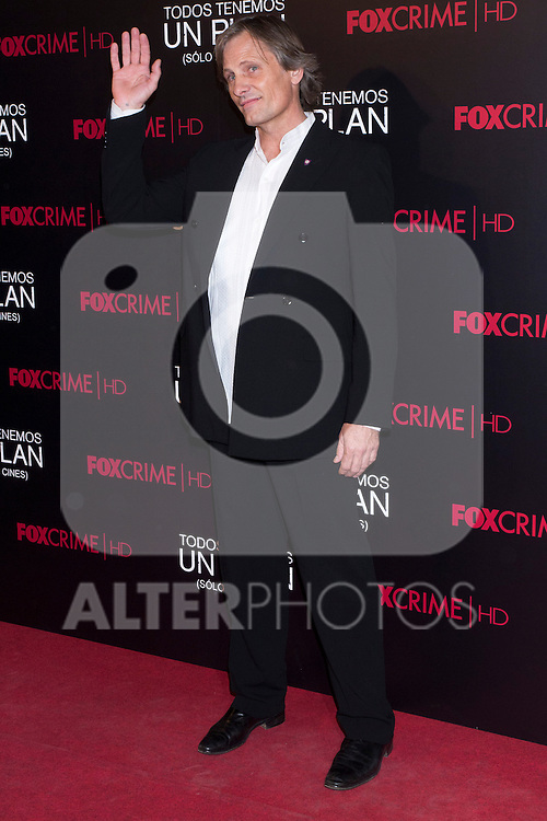05.09.2012. Premier at the Capitol Cinema in Madrid of the movie ´Todos tenemos un Plan´.. Directed by Ana Piterbag and starring by Viggo Mortensen, Soledad Villamil and Javier Godino. In the image Viggo Mortensen (Alterphotos/Marta Gonzalez)