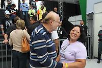 SAO PAULO, SP, 01/05/2014, FESTA DO TRABALHADOR. Acontece hoje (1) Dia do Trabalhador, a Festa da Central Sindical na Pca Campos de Bagatelli no bairro de Santana. Na foto o ex governador Alberto Goldman. LUIZ GUARNIERI/BRAZIL PHOTO PRESS.