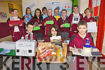 Junior Young Scientist..From front l-r were: Joseph Moriarty, Roxsana Jaglowska and Tom Houston..Back l-r were: Cathal O'Shea, Dejana Gravjesic, Tamila Khussainova, Matea Bogdanovic, Laura Brassil, Katie Ryan, Lorna Moriarty, Jack Duggan and Samuel Brzyskiewich.