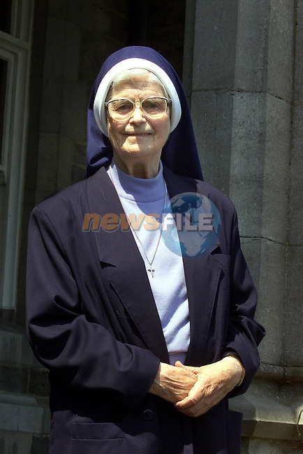 Sr Brigid McGee.Picture: Fran Caffrey Newsfile.Byline: Newsfile