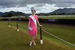 19-7-2017: Kerry Rose Breda O'Mahony looks stunning at Killarney Races / Roses evening on Wednesday evening.<br /> Photo: Don MacMonagle<br /> <br /> repro free photo from Killarney Races