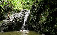 Maunawili Falls, Oahu.