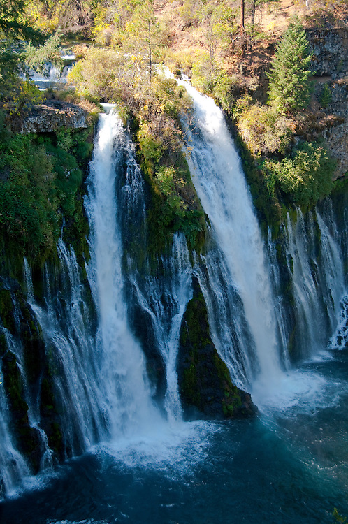 Shasta region of Northern California: Burney Falls.Photo copyright Lee Foster.  Photo # california-burney-falls-cashas105249