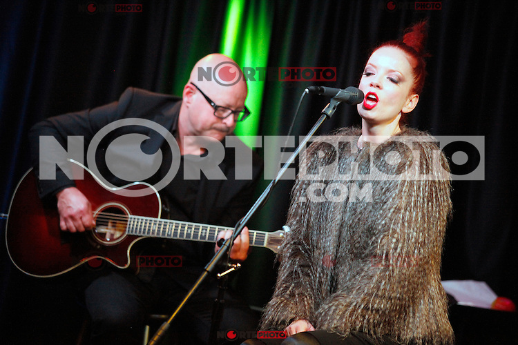 Garbage visit Radio 104.5's iHeart Radio Performance Theater in Bala Cynwyd, Pa on May 21, 2012  © Star Shooter / MediaPunchInc