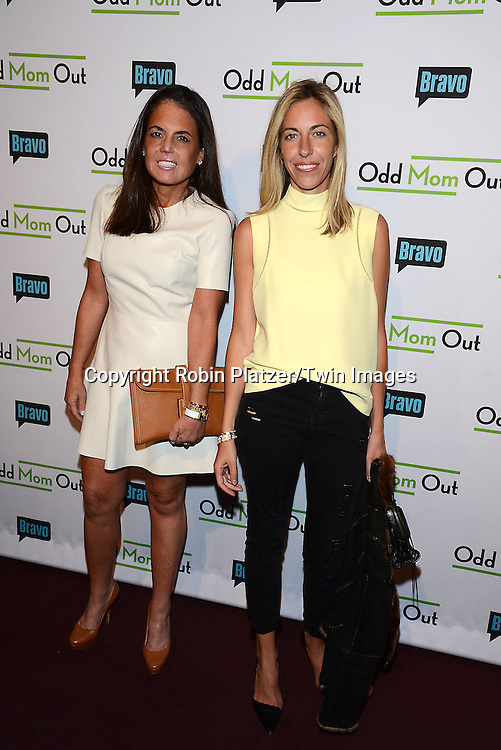 Elizabeth Meigher &amp; Nicole Hanley Mellon attends the &quot;Odd Mom Out&quot; Screening, which is Bravo's first scripted half-hour comedy from Jill Kargman,  on June 3, 2015 at Florence Gould Hall in New York City, New York, USA.<br /> <br /> photo by Robin Platzer/Twin Images<br />  <br /> phone number 212-935-0770