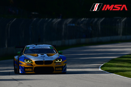 IMSA WeatherTech SportsCar Championship<br /> Continental Tire Road Race Showcase<br /> Road America, Elkhart Lake, WI USA<br /> Saturday 5 August 2017<br /> 96, BMW, BMW M6 GT3, GTD, Jesse Krohn, Jens Klingmann<br /> World Copyright: Peter Burke<br /> LAT Images