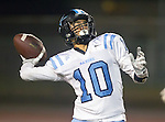 Lawndale, CA 10/14/16 - JJ Belmontes (North Torrance #10) in action during the North Torrance vs Leuzinger CIF League football game.