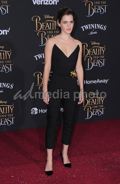 """02 March 2017 - Hollywood, California - Emma Watson. Los Angeles premiere of Disney's """"Beauty and the Beast' held at El Capitan Theatre. Photo Credit: Birdie Thompson/AdMedia"""