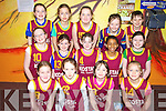 St. Joseph's Abbeyfeale under 10 basketball team who took part in the basketball blitz at Ballybunion Community Centre on Sunday were front l-r. Rebecca O'Mahoney, Margaret Walsh, Emma McCarthy and Megan Collins.  Middle l-r. Frances Broderick, Katelyn Dennehy, Emma Sexton,Lyaa Asregadue and Niamh Morris.  Back l-r. Anna O'Connell, Tessa Collins, Rowanna McNulty, Aisling Brosnan and Fionuala Mangan..