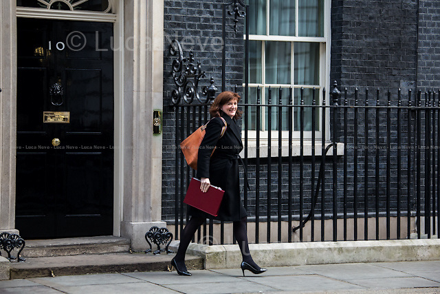 Nicky Morgan MP (Secretary of State for Education, Minister for Women and Equalities).<br />
