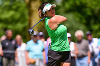 Gerina Piller (USA) watches her tee shot on 2 during Saturday's round 3 of the 2017 KPMG Women's PGA Championship, at Olympia Fields Country Club, Olympia Fields, Illinois. 7/1/2017.<br /> Picture: Golffile | Ken Murray<br /> <br /> <br /> All photo usage must carry mandatory copyright credit (&copy; Golffile | Ken Murray)