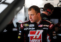 Apr 17, 2009; Avondale, AZ, USA; NASCAR Sprint Cup Series driver Ryan Newman during practice for the Subway Fresh Fit 500 at Phoenix International Raceway. Mandatory Credit: Mark J. Rebilas-