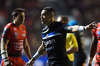 Kahn Fotuali'i of Bath Rugby. European Rugby Champions Cup match, between RC Toulon and Bath Rugby on December 9, 2017 at the Stade Mayol in Toulon, France. Photo by: Patrick Khachfe / Onside Images