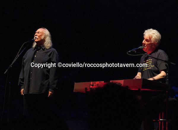 David Crosby and Graham Nash at Boston Wang Theater.