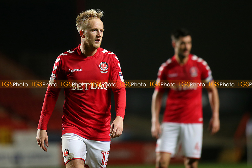 Ben Reeves of Charlton Athletic during Charlton Athletic vs Fulham Under-21, Checkatrade Trophy Football at The Valley on 1st November 2017